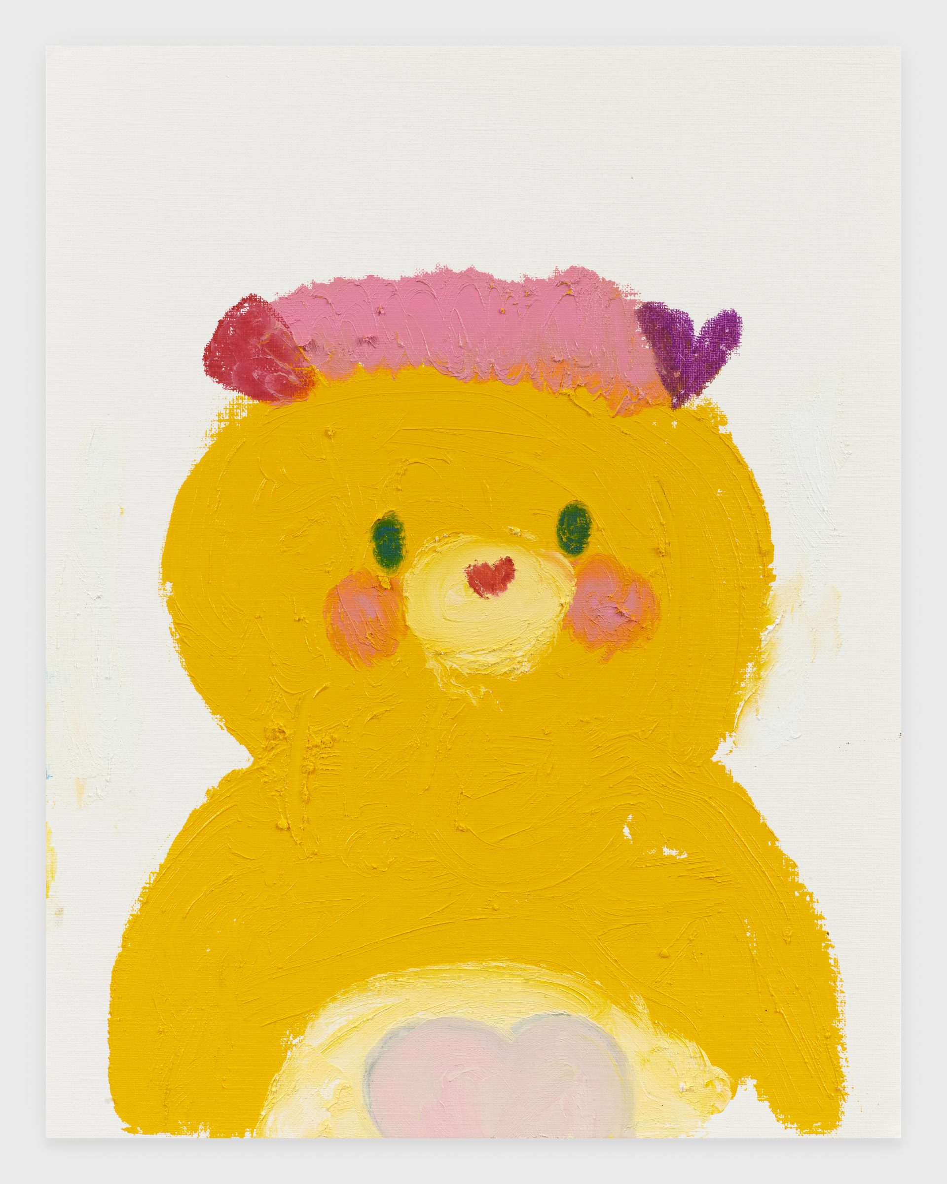 Popple (Potato Chip), 2020, Oil stick on archival paper, 11 x 14 inches