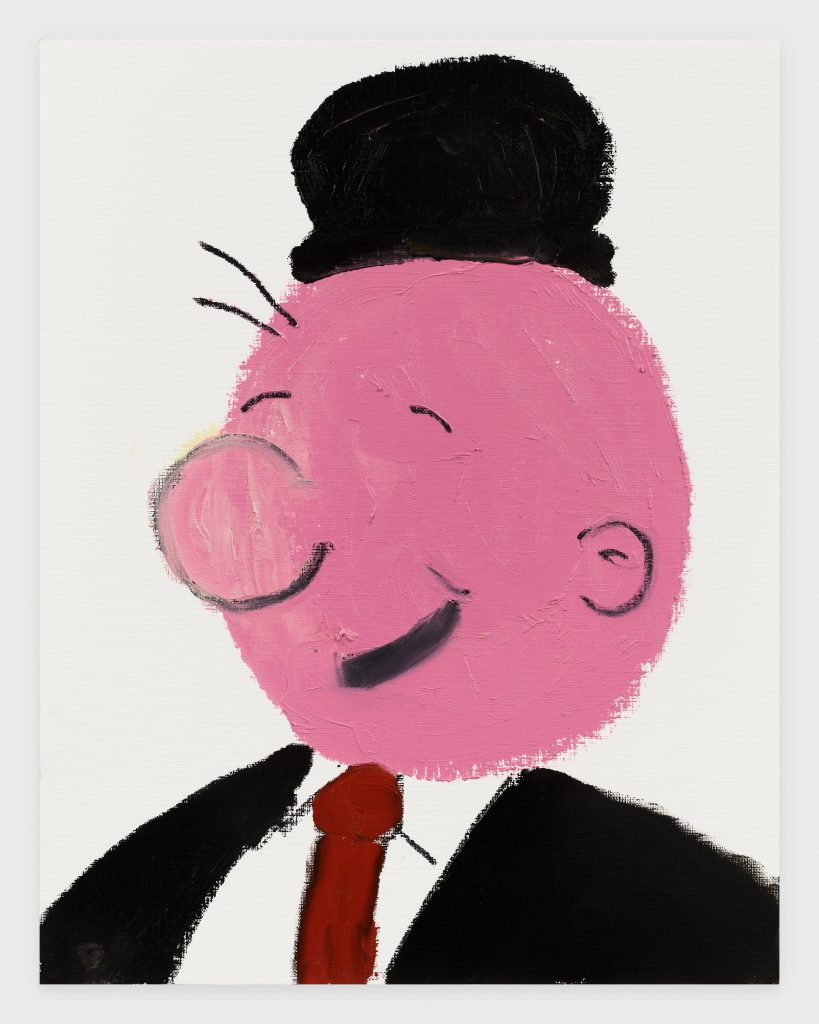 J. Wellington Wimpy, 2020, Oil stick on archival paper, 11 x 14 inches