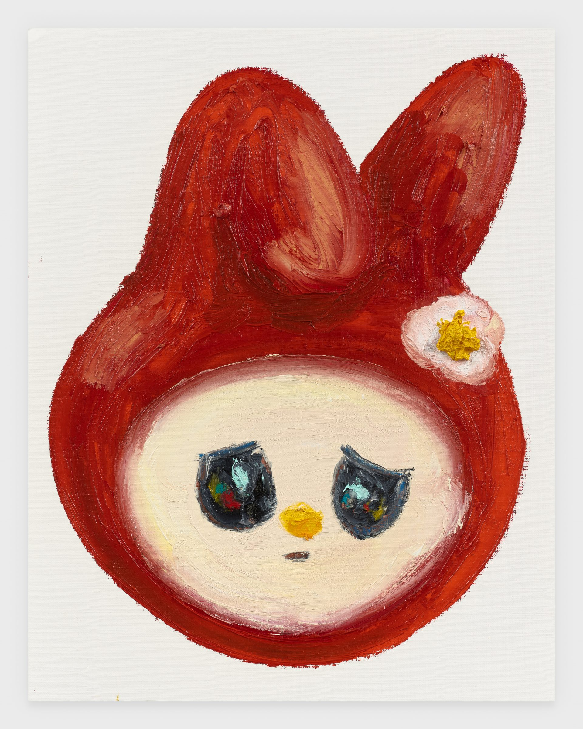 My Melody, 2020, Oil stick on archival paper, 11 x 14 inches