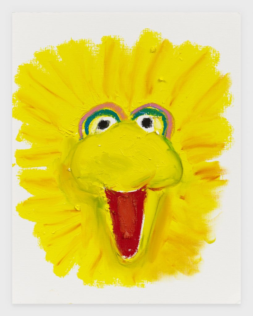Big Bird, 2020, Oil stick on archival paper, 11 x 14 inches