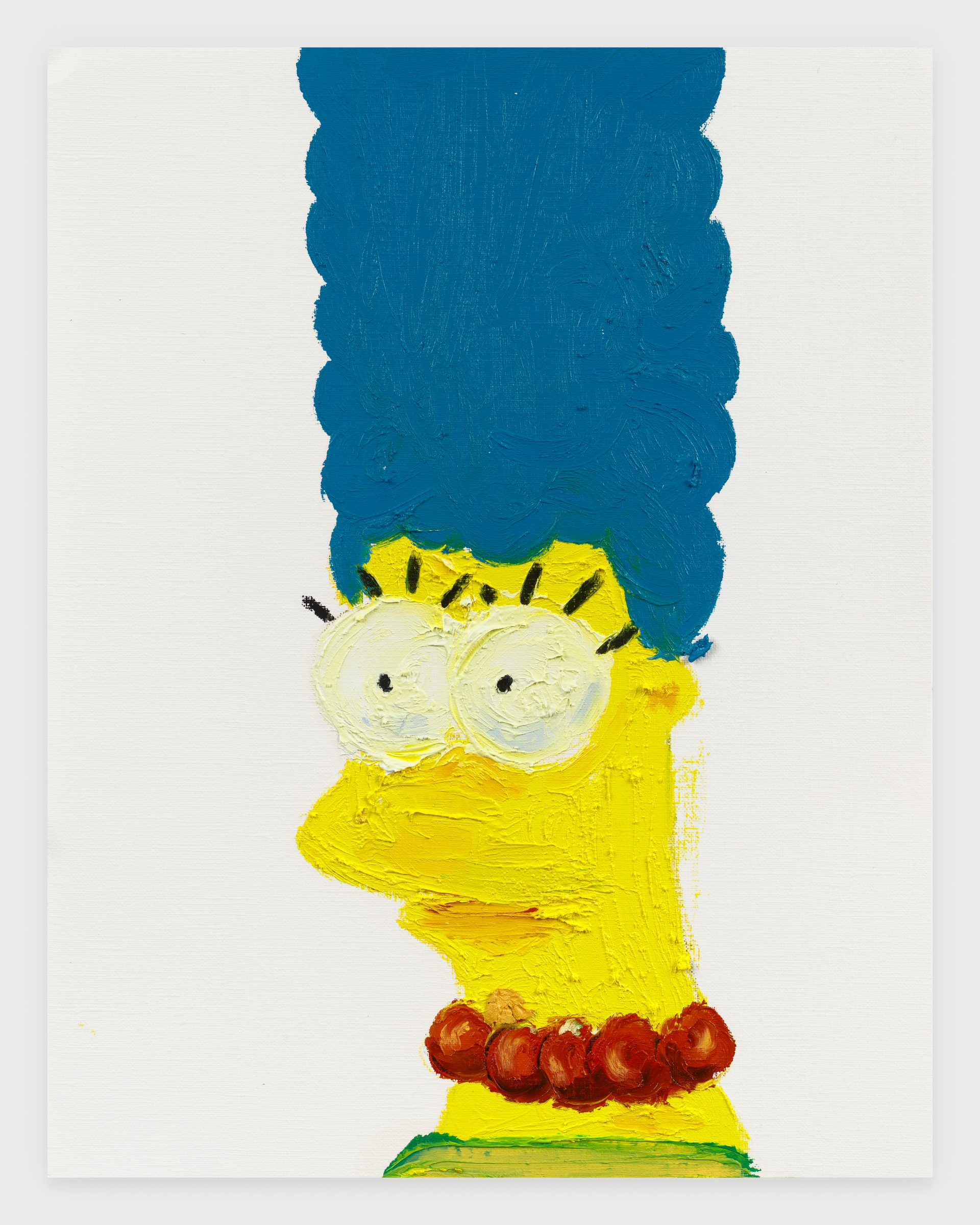 Marge, 2020, Oil stick on archival paper, 11 x 14 inches