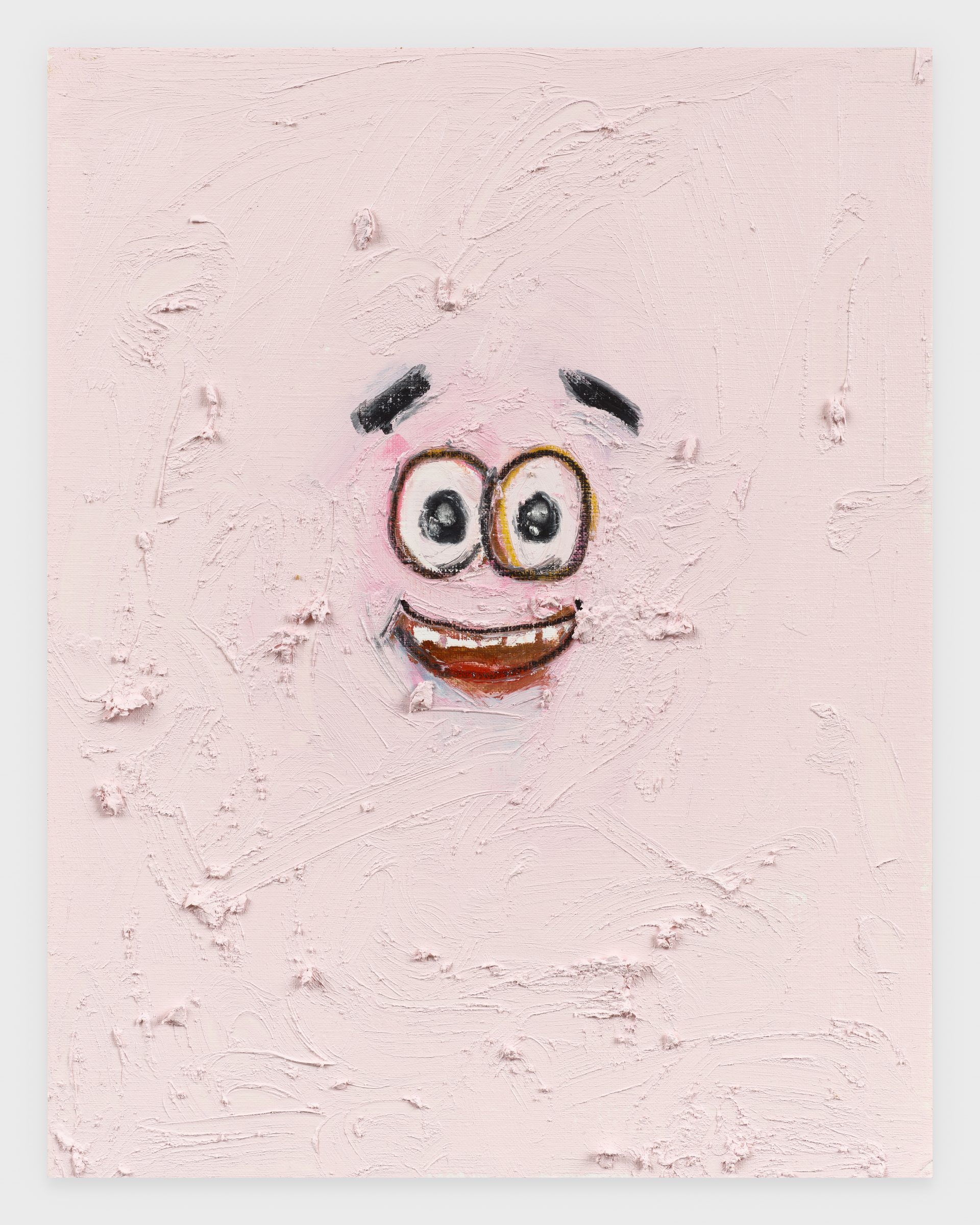 Patrick III, 2020, Oil stick on archival paper, 11 x 14 inches