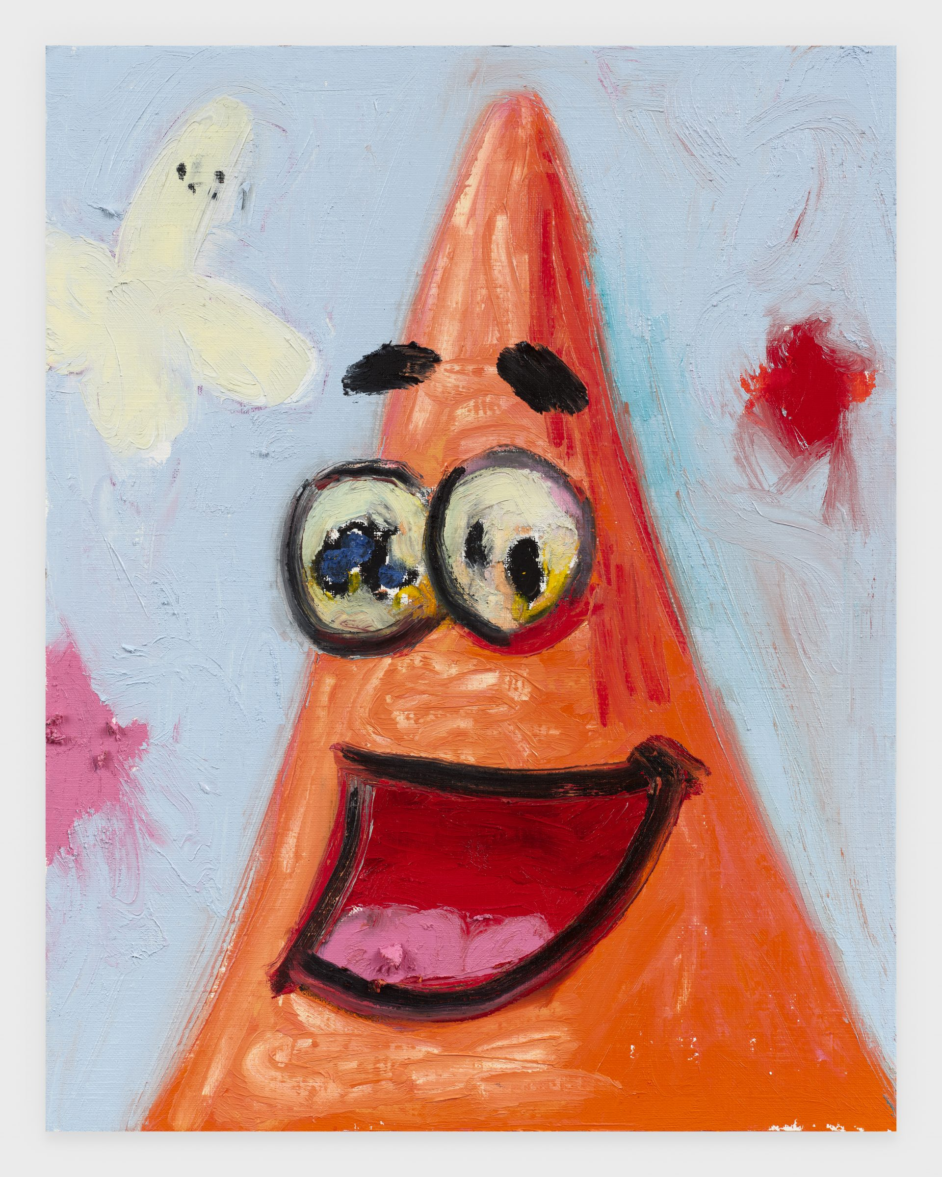 Patrick, 2020, Oil stick on archival paper, 11 x 14 inches