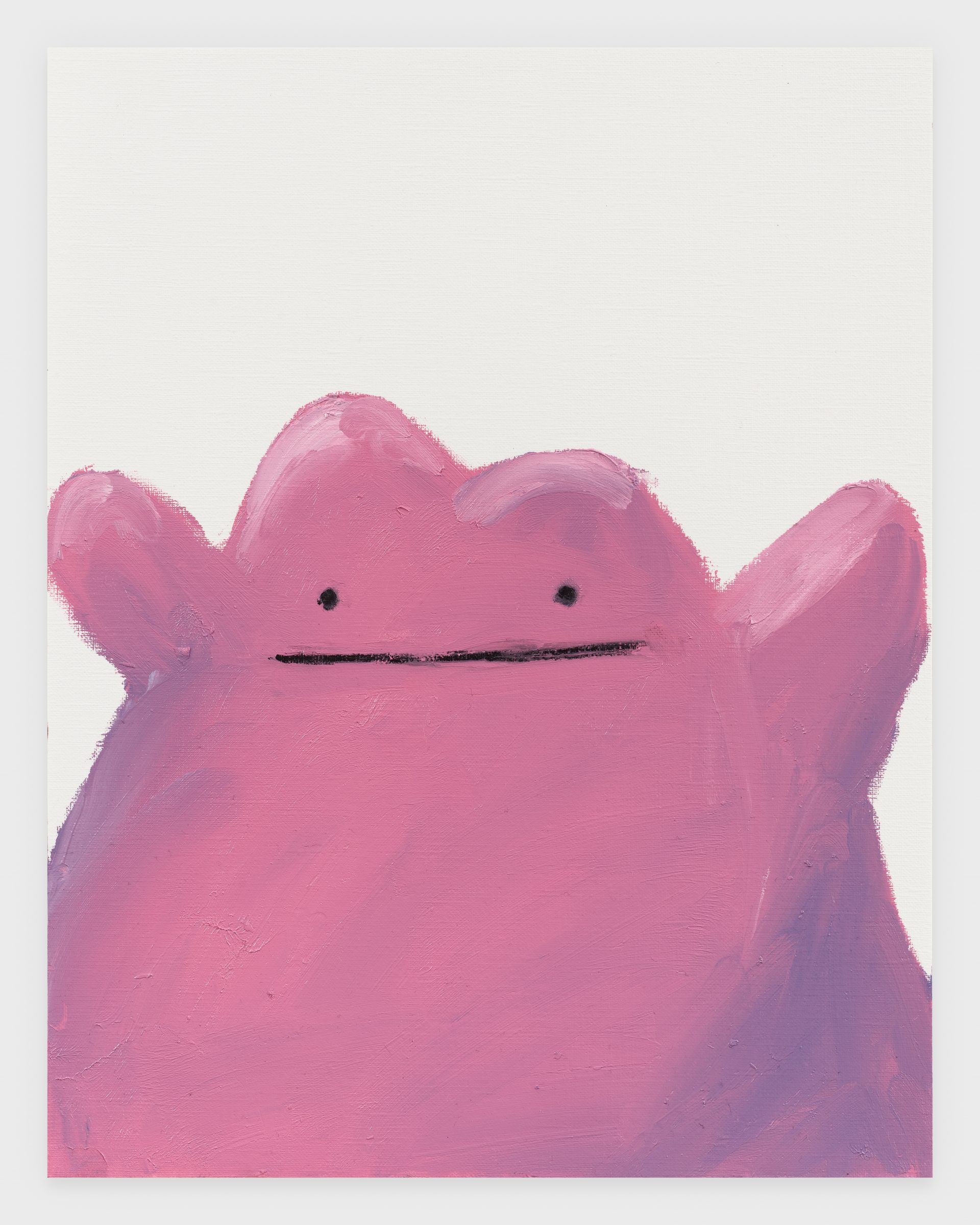 Ditto, 2020, Oil stick on archival paper, 11 x 14 inches