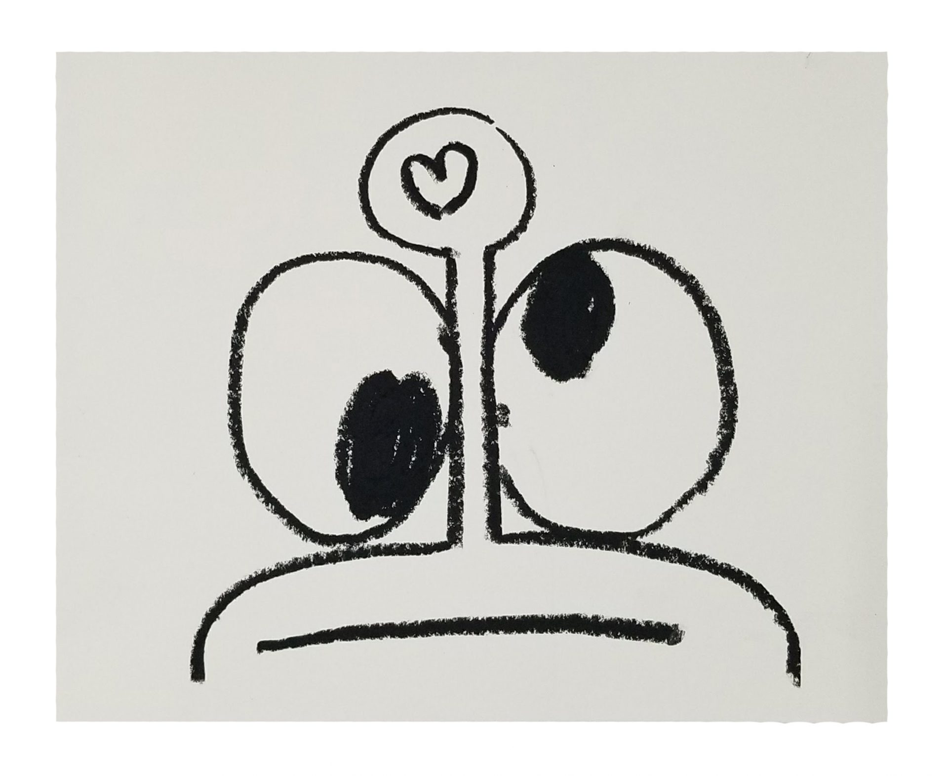 In the Key of Love Drawing Series Oil pastel on archival paper 8 x 10 inches each