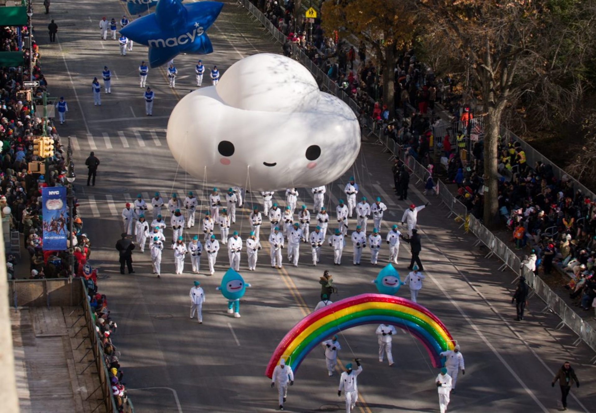Little Cloud in Macy's Thanksgiving Day Parade!
