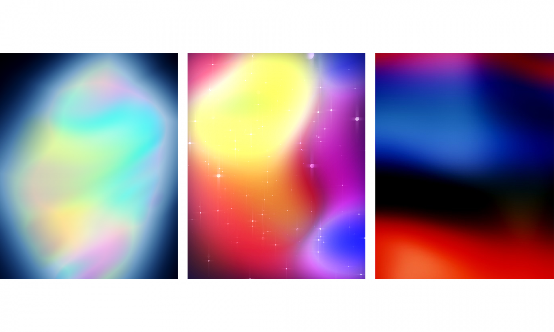 """The Lightening"", ""Spacey"" & ""Multiverse"" Limited Edition Lenticular Prints, 2014"